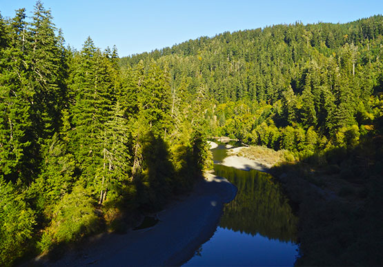 Chetco River of Oregon