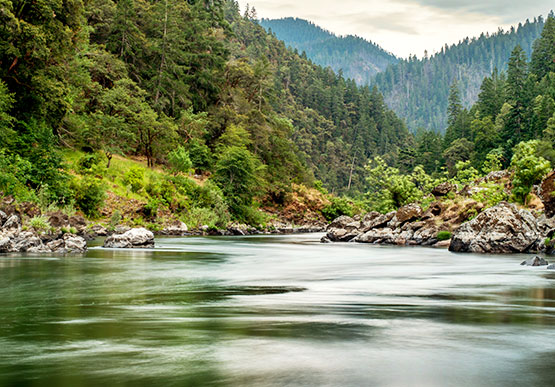 Rogue River in Oregon