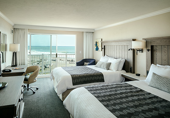 Oceanview Room at Beachfront Inn Hotel, Brookings